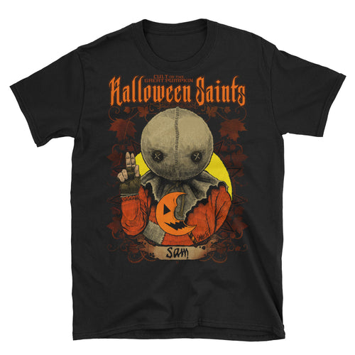 Halloween Saints - Sam Short-Sleeve Unisex T-Shirt