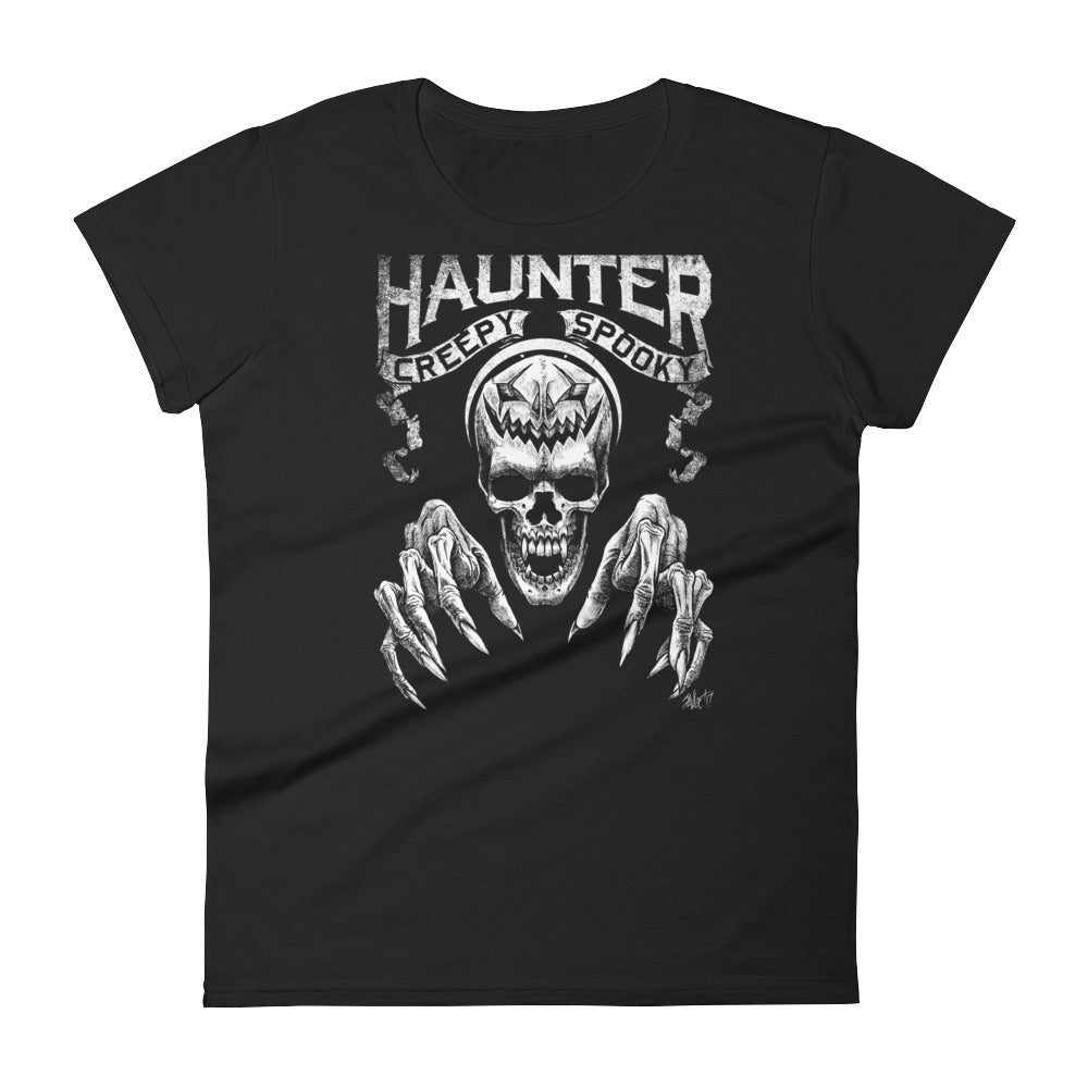 HAUNTER Women's short sleeve t-shirt