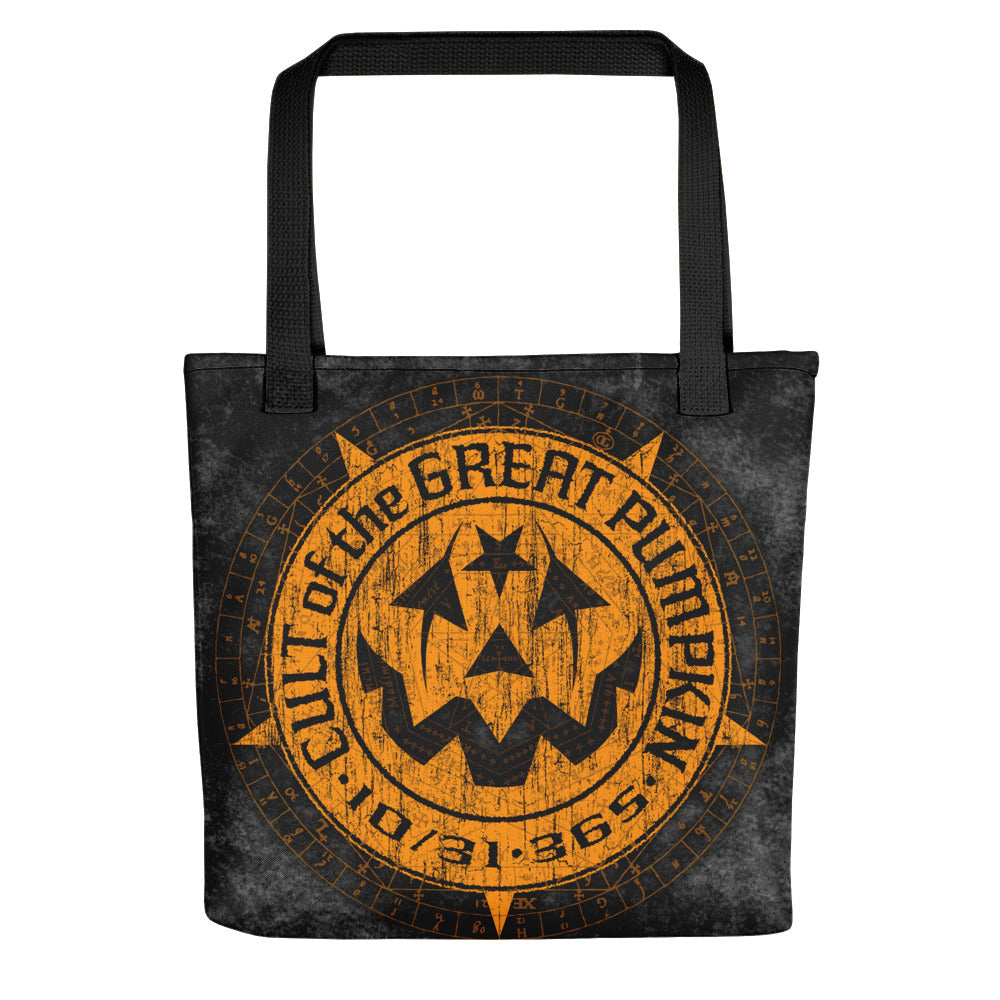 Cult of the Great Pumpkin Weathered Logo Tote bag