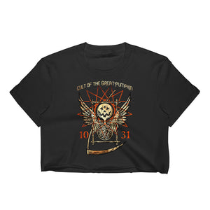 Cult of the Great Pumpkin - Thanatos Hourglass Women's Crop Top