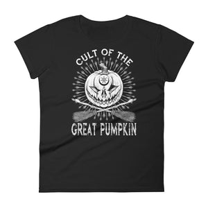 Cult of The Great Pumpkin - Crossed Brooms Women's short sleeve t-shirt