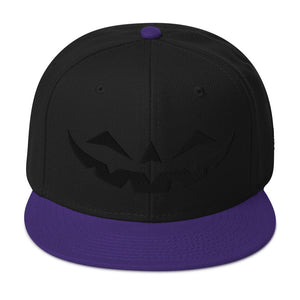 Happy Jack Black-on-Black Snapback Hat [Multiple Color Options!]