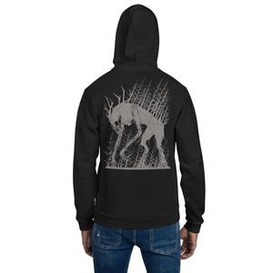 Spirit of the Lonely Places Zip-Up Hoodie sweater