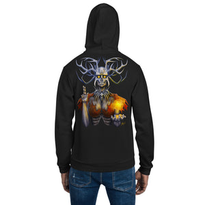Saint of the Lonely Places Zip-Up Hoodie sweater