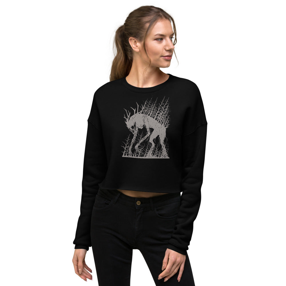 Spirit of the Lonely Places Crop Sweatshirt
