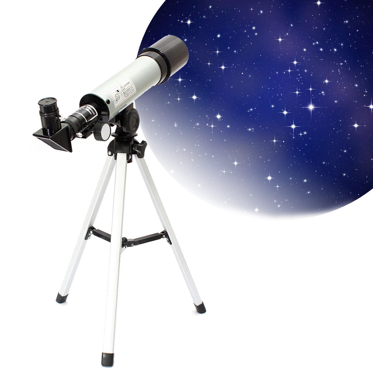 IPRee F360x50 HD Refractive Astronomical Telescope High Magnification Zoom Monocular for Space Observation