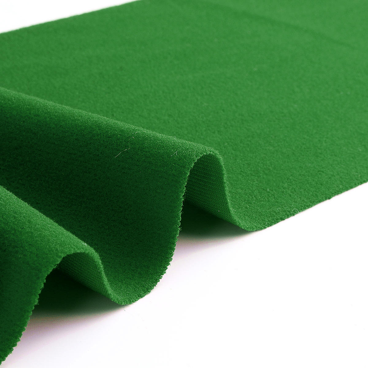 SportsBarn Replacement Felt Cloth For Pool Billiard or Snooker Table -- 6Pcs Green/Red 9.5x4.7ft