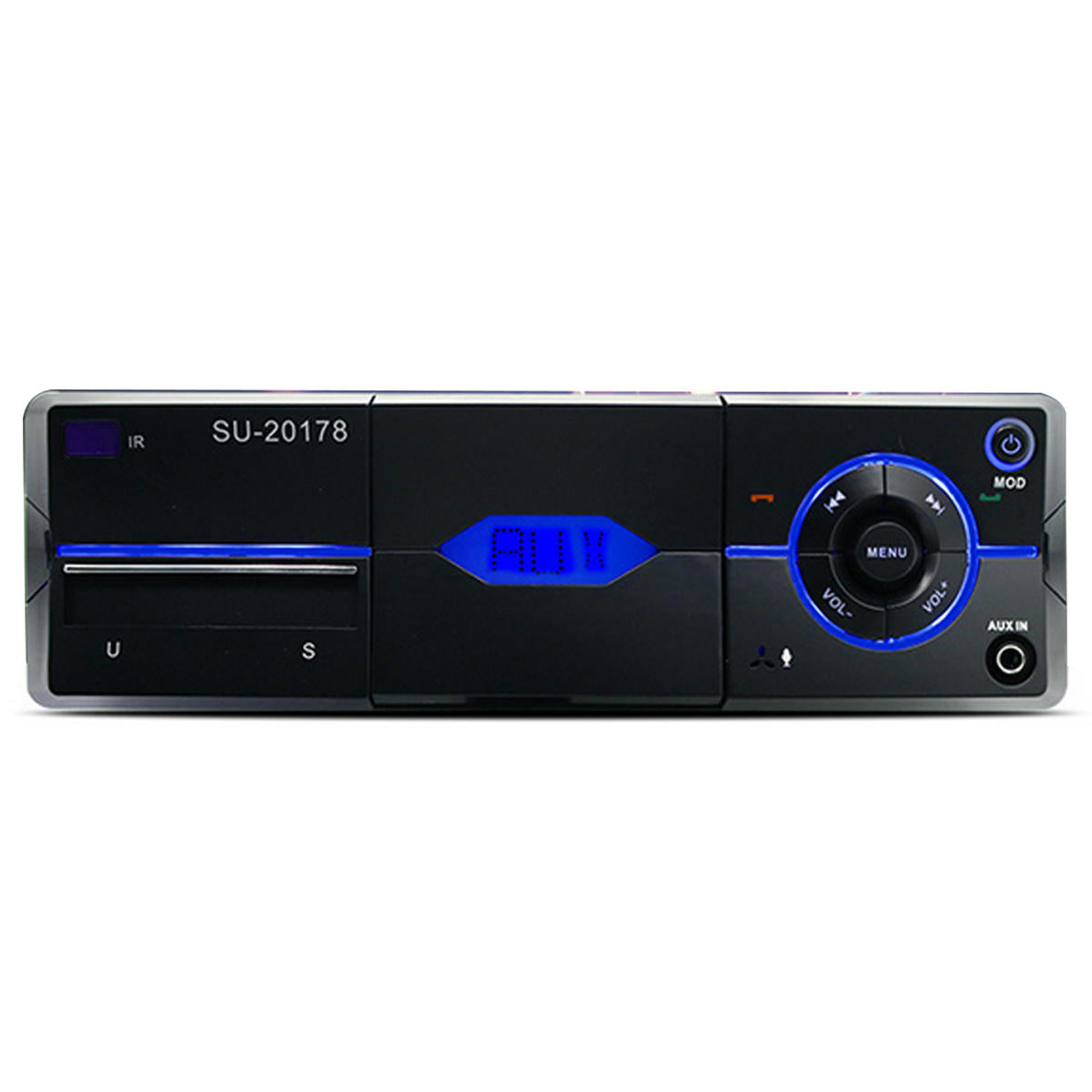 Bluetooth Car Stereo FM Radio SD/USB/AUX RC MP3 Player - Red Hot Exclusive
