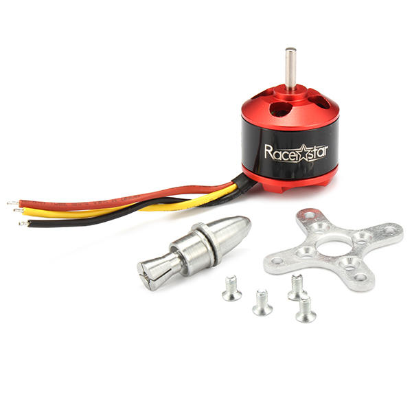 Racerstar BR2212 1400KV 2-4S Brushless Motor for RC Models - Red Hot Exclusive