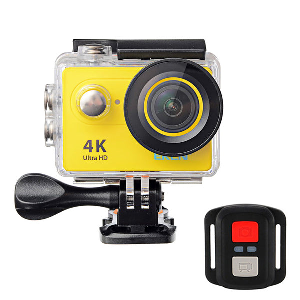 EKEN H9R 4K Ultra HD Waterproof Sports Camera Remote Control WiFi Wide Angle Lens