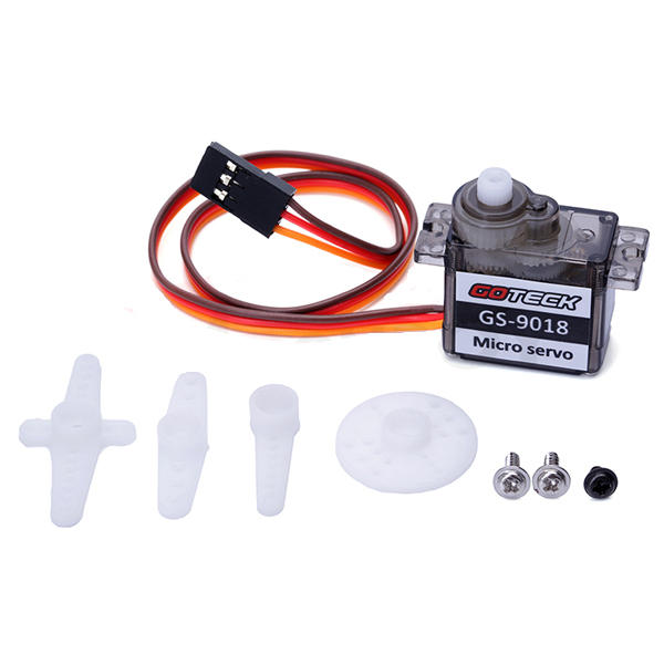 GOTECK GS-9018C Brush Micro Servo 9g 1.5KG for RC Models