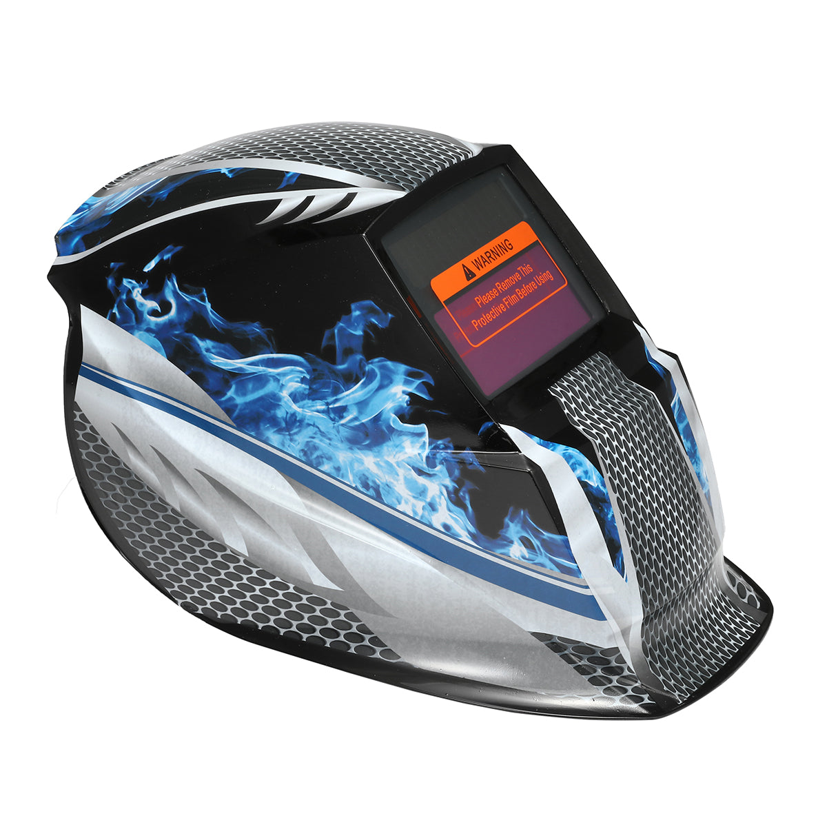 Solar Auto Darkening Welding Helmet Welder Mask Grind Protective Shield - Red Hot Exclusive