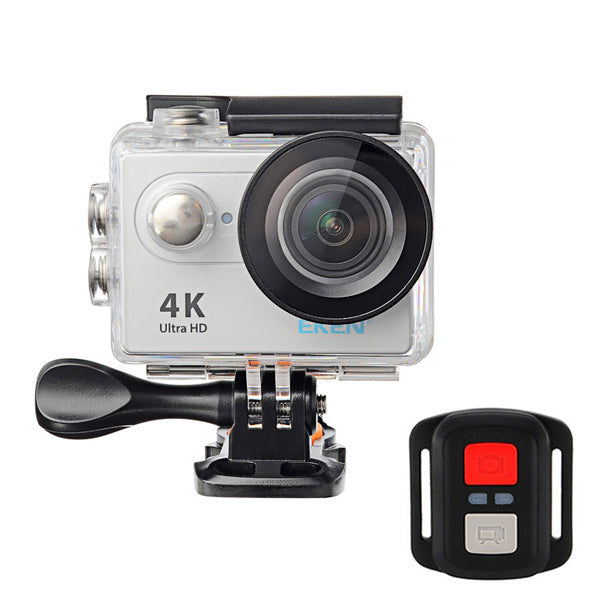 EKEN H9R 4K Ultra HD Waterproof Sports Camera Remote Control WiFi Wide Angle Lens - Red Hot Exclusive