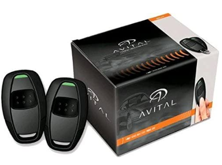 Avital 4115L One-Way Vehicle Remote Start System for Car with 1-Button Remote - Red Hot Exclusive