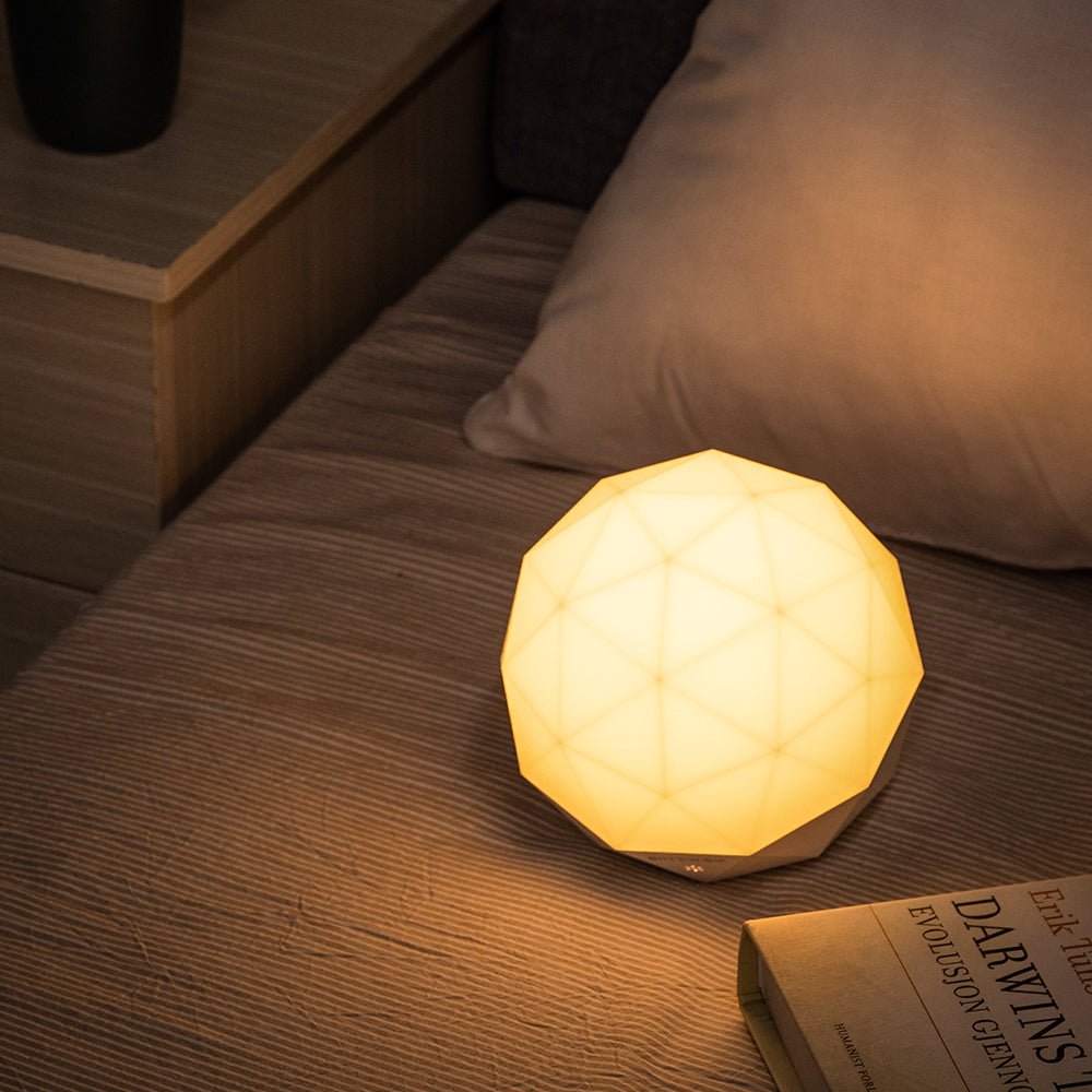BlitzWolf Diamond Ambient Night Light USB Color Temperature Dimming LED Lamp - Red Hot Exclusive