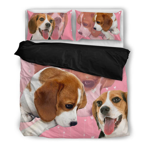 Cute Beagle Bedding Set- Free Shipping
