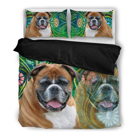 Boxer Print Bedding Set -Free Shipping