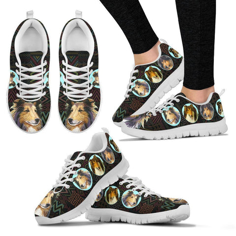 Amazing Collie Dog-Women's Running Shoes-Free Shipping