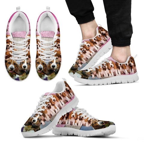 Basset Hound Group-Dog Shoes For Men-Free Shipping Limited Edition