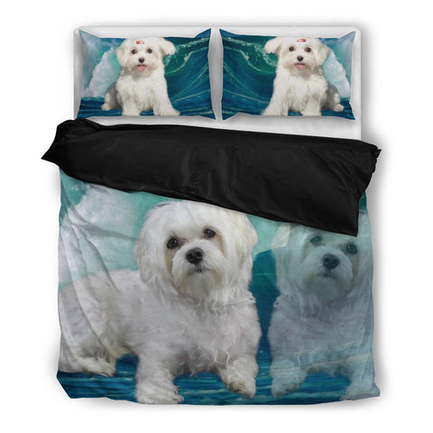 Cute Maltese Bedding Set-Free Shipping
