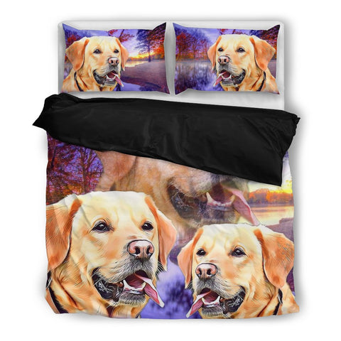Labrador Retriever Bedding Set- Free Shipping
