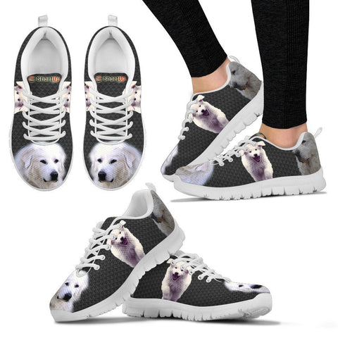 Amazing Great Pyrenees Dog-Women's Running Shoes-Free Shipping