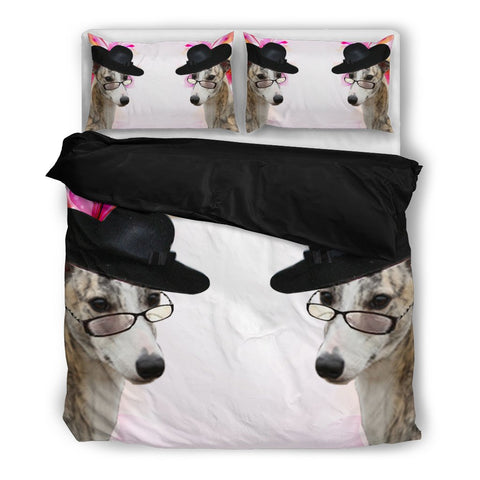 Whippet Print Bedding Set-Free Shipping
