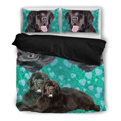 Amazing Newfoundland Print Bedding Set- Free Shipping
