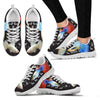 Beautiful Guppy Fish Print Christmas Running Shoes For Women- Free Shipping