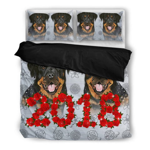 Valentine's Day Special-Rottweiler Print Bedding Set-Free Shipping