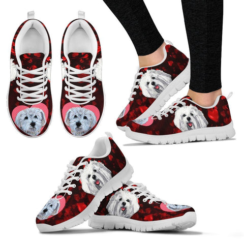 Valentine's Day Special-Cute Havanese Dog Print Running Shoes For Women-Free Shipping