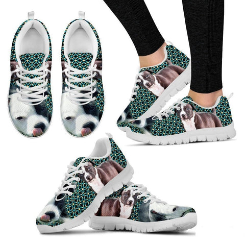 American Staffordshire Terrier-Dog Running Shoes For Women-Free Shipping