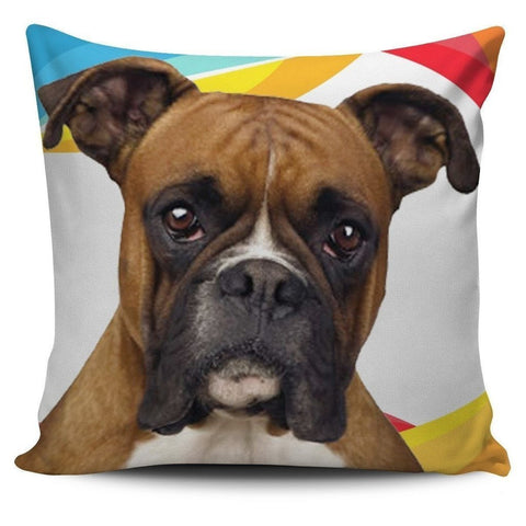 Boxer Dog-Pillow Cover-Free Shipping