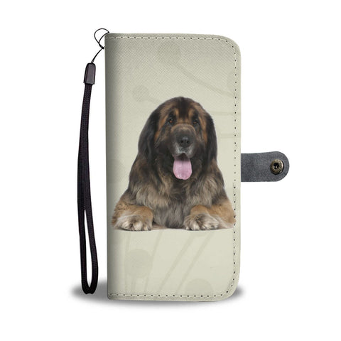 Amazing Leonberger Dog Print Wallet Case-Free Shipping