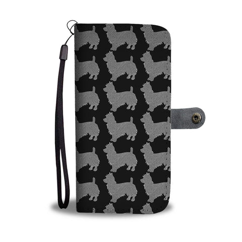 Australian Terrier 2nd Pattern Print Wallet Case-Free Shipping