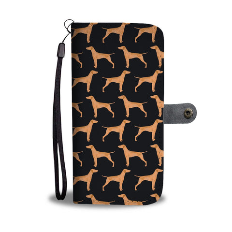 Vizsla Dog Pattern 2 Print Wallet Case-Free Shipping