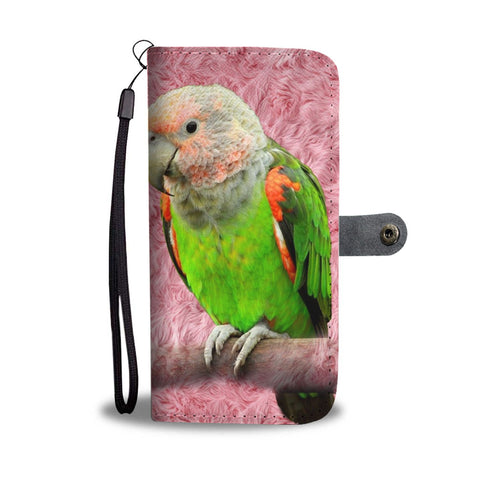 Poicephalus Parrot Print Wallet Case-Free Shipping