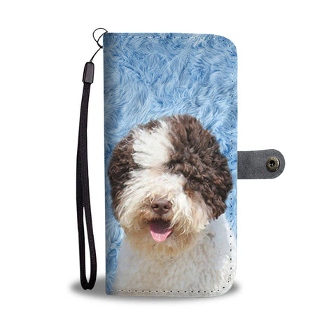 Amazing Lagotto Romagnolo  Dog Pattern Print Wallet Case-Free Shipping