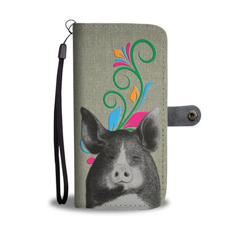 Berkshire pig Print Wallet Case-Free Shipping