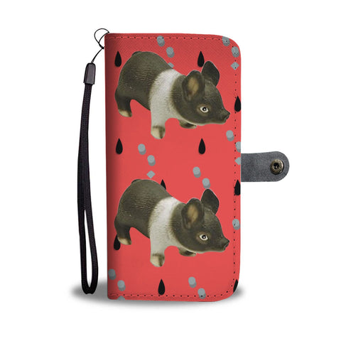 Hampshire pig Print Wallet Case-Free Shipping