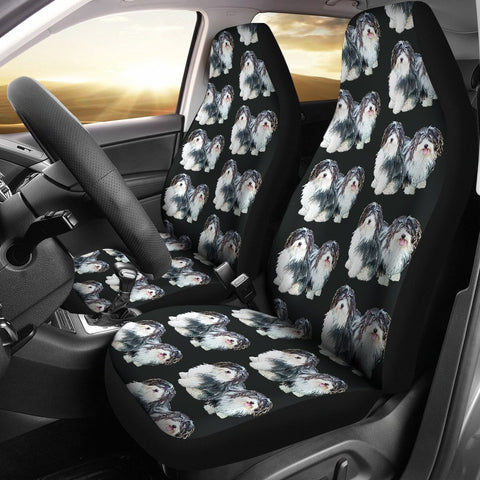Havanese Dog Pattern Print Car Seat Covers-Free Shipping