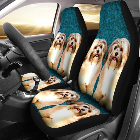 Cute Havanese Dog Print Car Seat Covers-Free Shipping