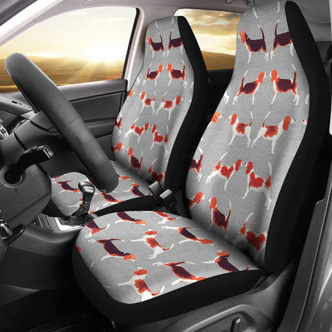 Beagle Dog Patterns2 Print Car Seat Covers-Free Shipping