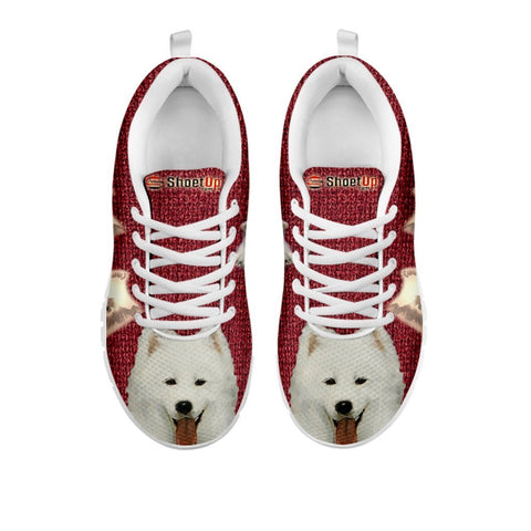 Amazing Samoyed Dog-Women's Running Shoes-Free Shipping-For 24 Hours Only