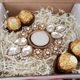 Sparkling Adra Tealight Giftbox
