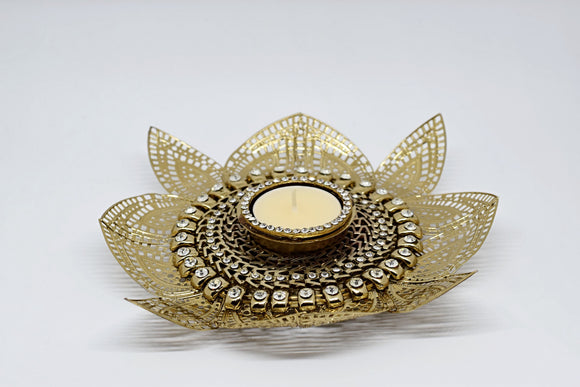 Lotus Jali Tealight
