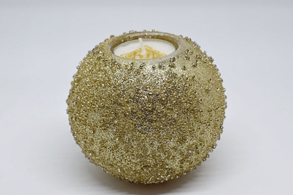 Gold Glitter Tealight