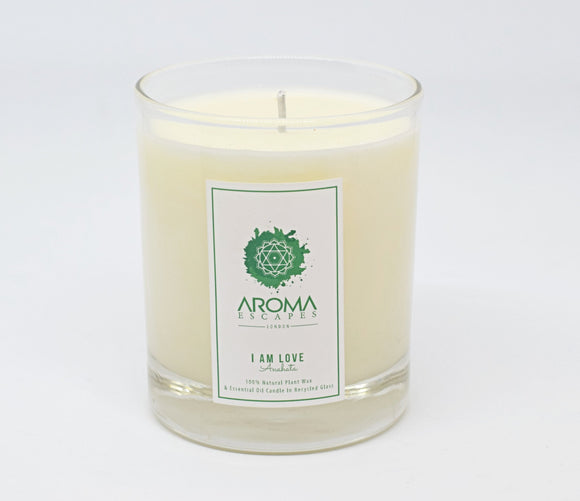 04. 30cl I Am Love Chakra Candle