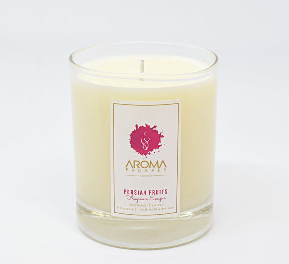 21. 30cl Fragrance Persian Fruits Candle