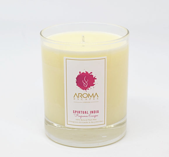 20. 30cl Fragrance Spiritual India Candle